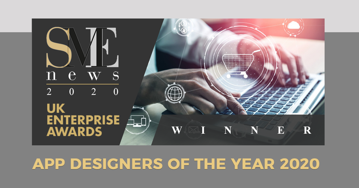 "<Huddersfield Apps> pleased to win the ""App Designers of the Year"" award for 2020!"